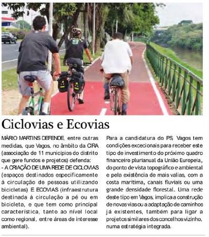 Ciclovias e Ecovias